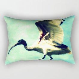 Ibis Bird Rectangular Pillow
