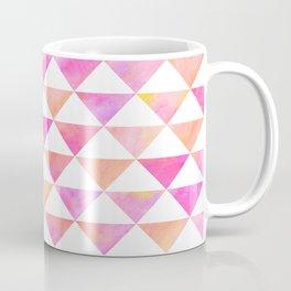 Watercolor Triangles Coffee Mug
