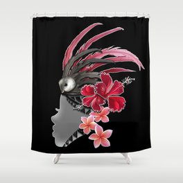 vahine Shower Curtain