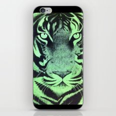 Be A Tiger (Green) iPhone & iPod Skin