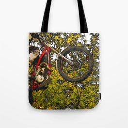 Airtime - Dirt-bike Racer Tote Bag