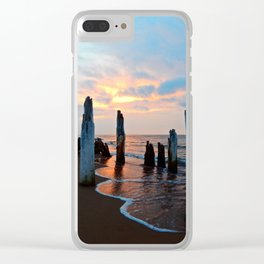 Pillars of the Past at Dusk Clear iPhone Case