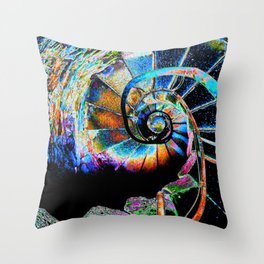 Stairway to Infinity Throw Pillow
