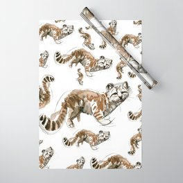 Totem Andean cat (AGA) Wrapping Paper