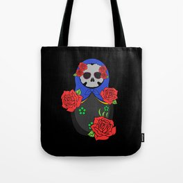 Skull matrioska Tote Bag