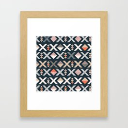 Ex marks the spot Framed Art Print