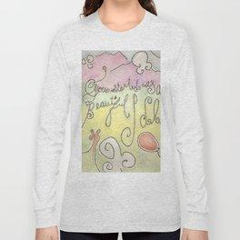 Beautiful Idea Long Sleeve T-shirt
