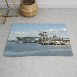 Pompey aircraft carriers  Rug