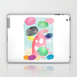 A wild creature in a macaron rain Laptop & iPad Skin