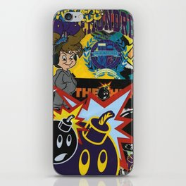 art colour new bomb fun funny cartoon swag character love hot 2018 merry letters iPhone Skin