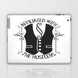 Affiliated With The Hustlers Laptop & iPad Skin