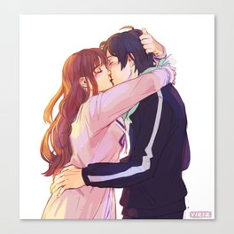 Noragami kisses Canvas Print