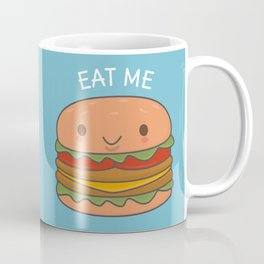 Kawaii Cute Burger Coffee Mug