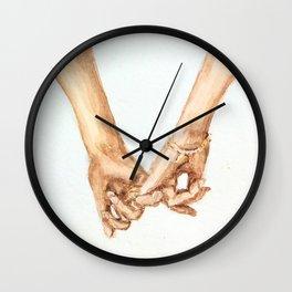 Pinky Swear III Wall Clock