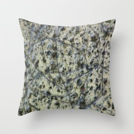 Scratched Granite Throw Pillow
