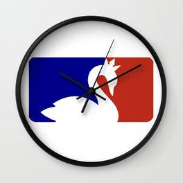 I SHIP SWAN QUEEN Wall Clock