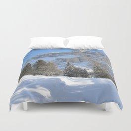 Mountain Dolomiti Duvet Cover