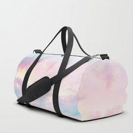 Unicorn Pastel Clouds #2 #decor #art #society6 Duffle Bag
