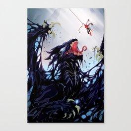 Venom Dragon Canvas Print