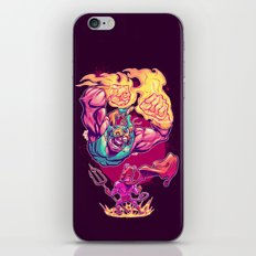 LUCHADORO VS EL DIABLO iPhone & iPod Skin