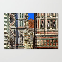 Renaissance Architecture in Florence Canvas Print