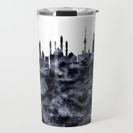 Baku Skyline Azerbaijan Travel Mug