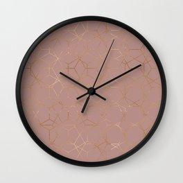 geometric iv x ii Wall Clock