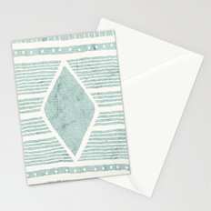 Tribal Textile Pattern Stationery Cards