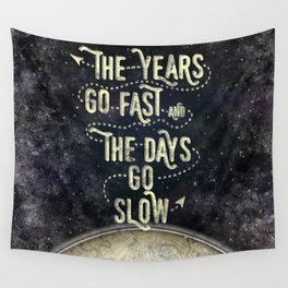 Getting Old Wall Tapestry