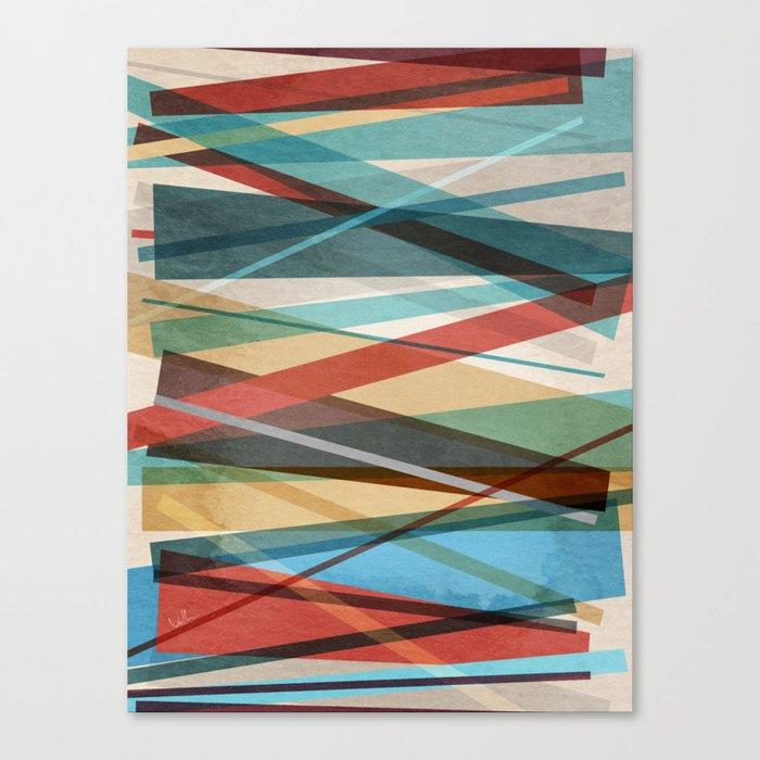 Geometric Prison Canvas Print