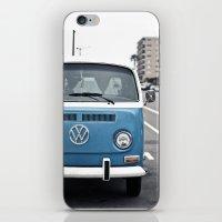 volkswagen iPhone & iPod Skins featuring Volkswagen Bus by somethinghitdom