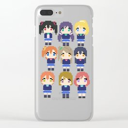 Pixel Muse Clear iPhone Case