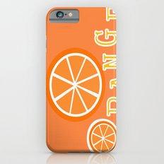 Orange Slim Case iPhone 6s