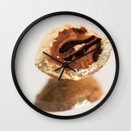 Gold Tree Nut Wall Clock