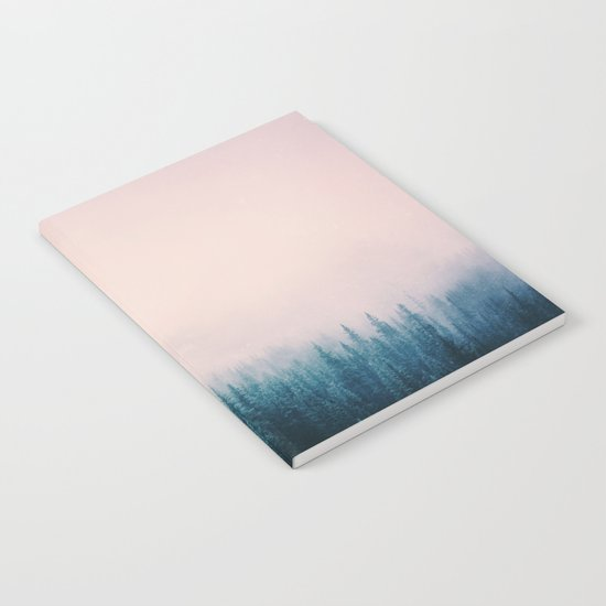 Pastel Forest Notebook