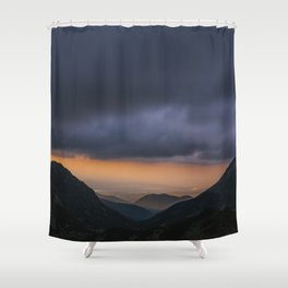 Sunset is my favorite color Shower Curtain