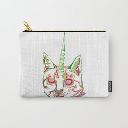 Punk Unicat Carry-All Pouch