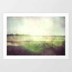 fishbourne marshes 02 Art Print