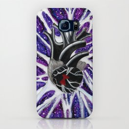 """""""Metaphysical Ventricles"""" multimedia painting by Blake Lavergne iPhone Case"""