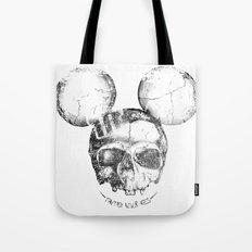 Mickey Skull Tote Bag