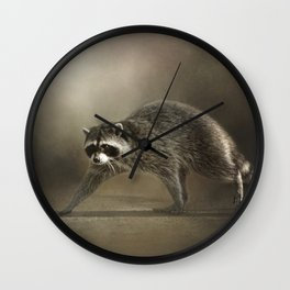 Midnight Marauder 11 Wall Clock