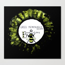 BEE SIDES Canvas Print