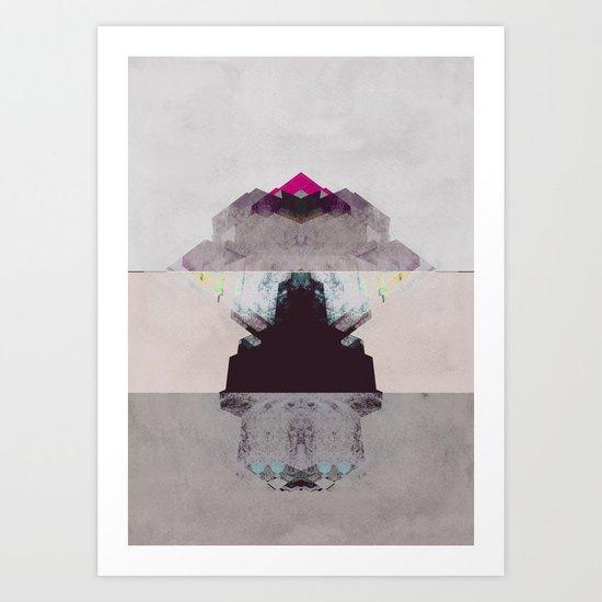 Apart Art Print