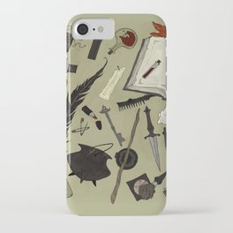 Witchy Materials iPhone Case