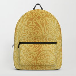 Celtic Warlord gold Backpack