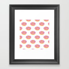 Doughnut Heaven  Framed Art Print