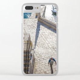 Hvar 1.0 Clear iPhone Case