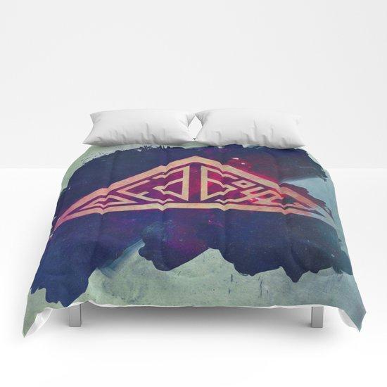 Ded Boyz Logo Painted Comforters