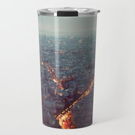 Blue Hour in Paris. Travel Mug