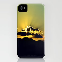 The Sky Is The Limit. iPhone Case